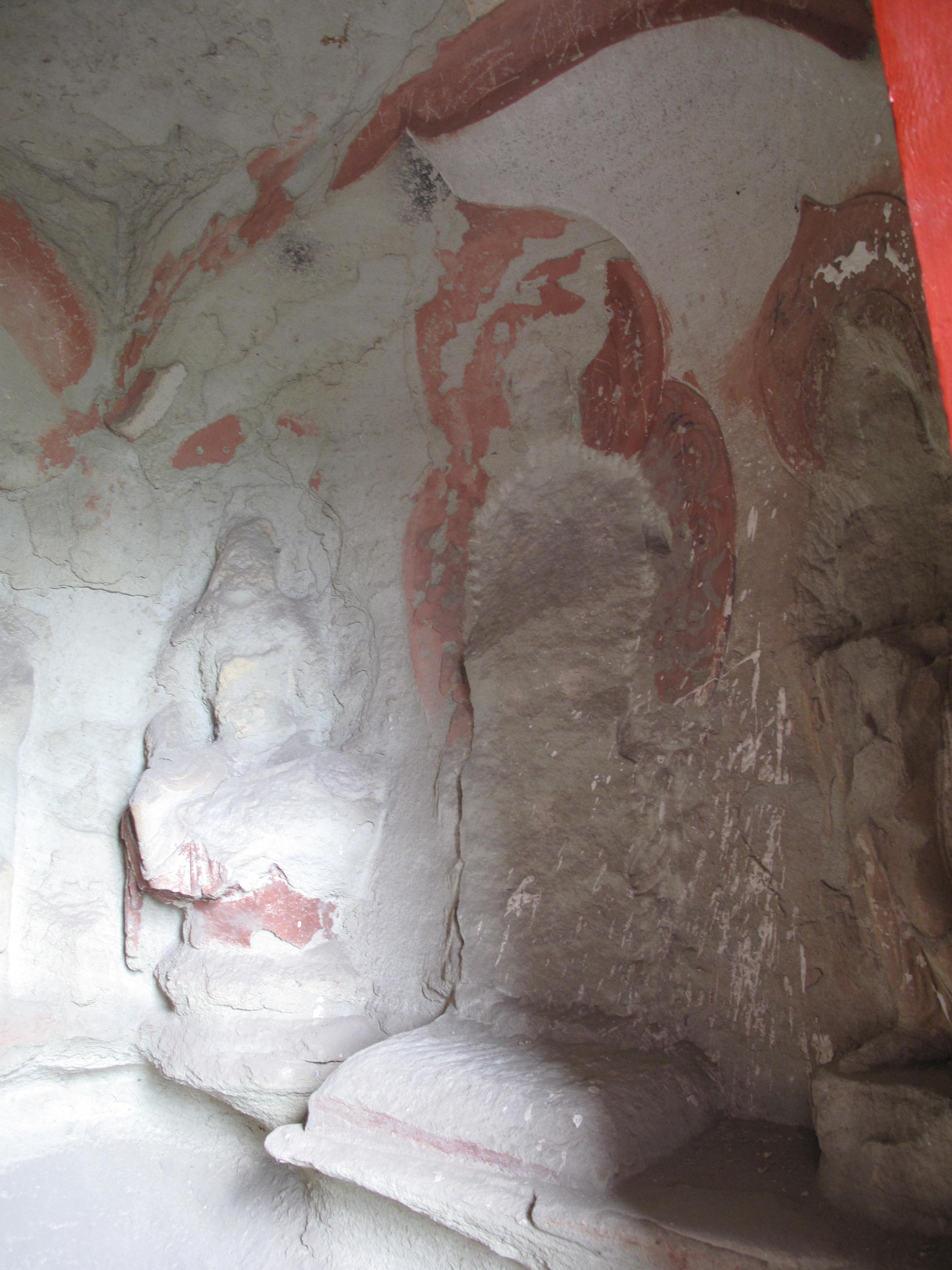 Tianlongshan Cave 6 right east wall 1