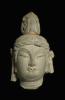 Tianlongshan Bodhisattva Head BAR.A164 main photo