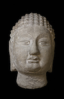 Tianlongshan Buddha Head BMU.1937.1013.1 main photo