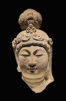 Tianlongshan Bodhisattva Head NMC.UNKNOWN.1 main photo