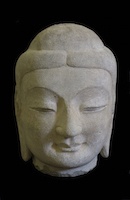 Tianlongshan Buddha Head OSA.2929 main photo