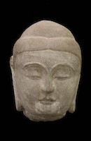 Tianlongshan Buddha Head OSA.8563 main photo