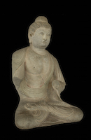 Tianlongshan Buddha Seated HAR.1943.53.22 perspective 3