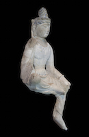 Tianlongshan Bodhisattva Seated NEL.33.9.1 perspective 3