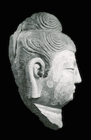 Tianlongshan Buddha Head TNM.UNKNOWN.7 perspective 2